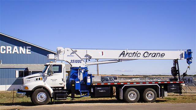 35 Ton Picker Truck