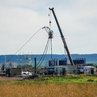 90 Ton Hydraulic Truck Crane Coil Tubing