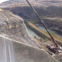 WAC Bennett Dam Hudson's Hope