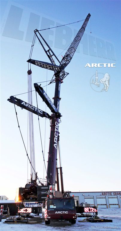 Arctic Crane Service Ltd  – Grande Prairie